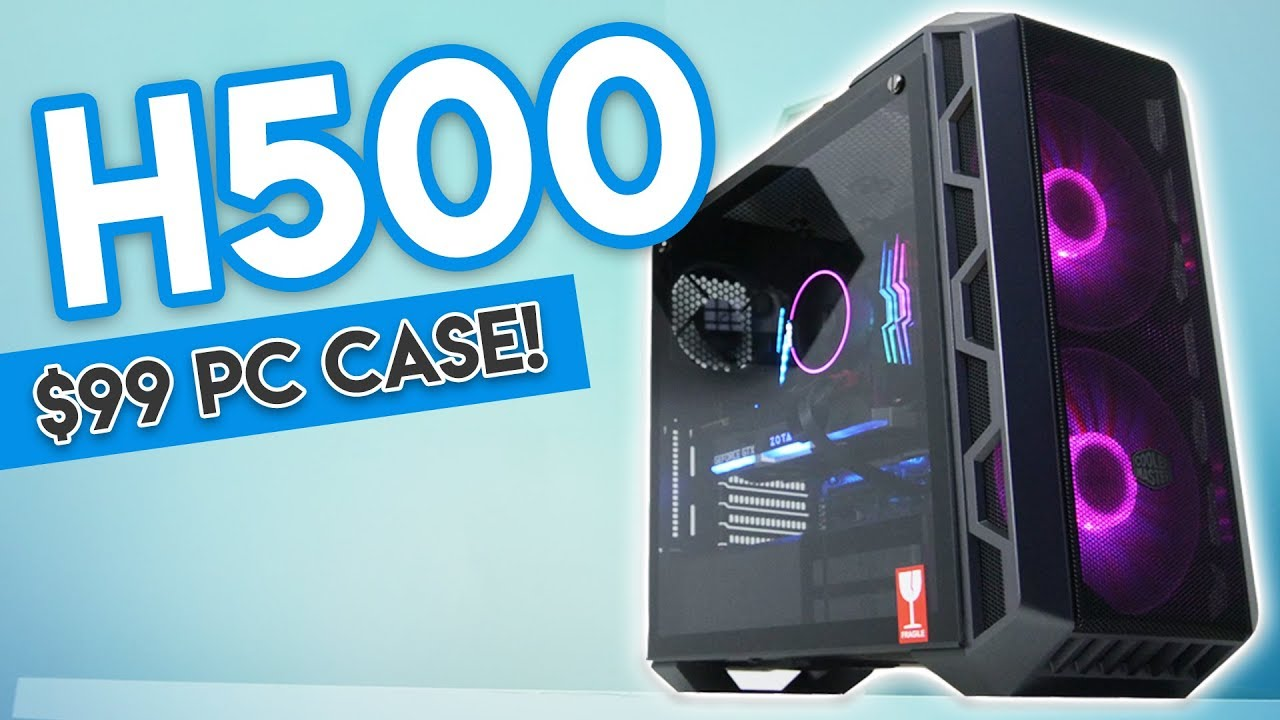 The ULTIMATE $99 High Air Flow Case? [Cooler Master H500 Review - They  Fixed the H500P    AGAIN?!]