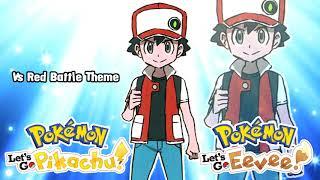 Vs Red Battle Theme Remix - Pokemon Let's Go Pikachu & Eevee