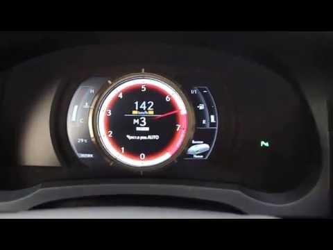 Speed Test Lexus IS 250 F Sport 2014г.в.