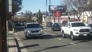 LAPD Ford Explorer + LAFD Fast Response 9 Responding