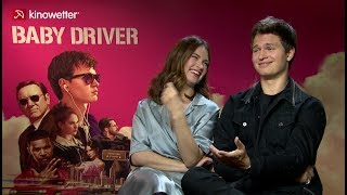 Interview Lily James & Ansel Elgort BABY DRIVER