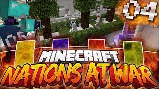 Minecraft Nations At War #4 - RAIDING A NATION!