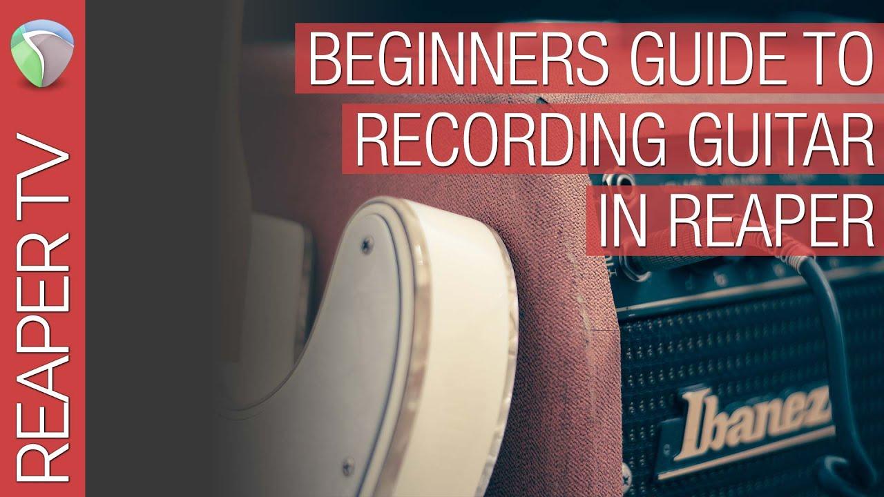 How to Record Metal Guitar at Home - Tone Topics