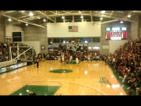 Humboldt State University Basketball Ernie Spada 3pt At The Buzzer Vs Csdhu