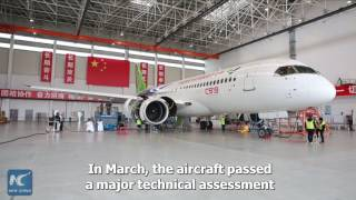 China-made C919 passenger jet to take off soon