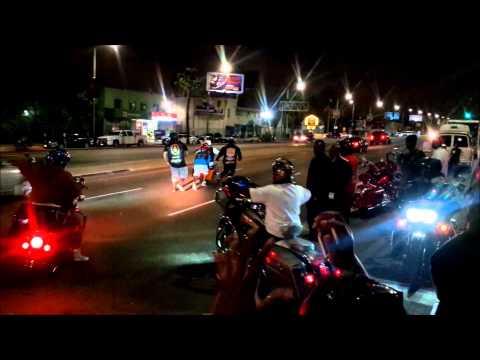 Crenshaw Blvd at Night | South LA
