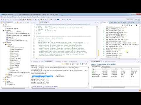 الدرس v : مقدمة عن Software development وبرنامج Hello Blinky