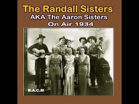 The Randall Sisters - Radio Transcriptions Part 1 (c.1934).