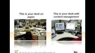 Webinar: using advanced document management to create a comprehensive electronic employee file