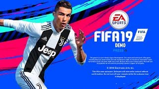 THE FIFA 19 DEMO WAS MEANT TO BE RELEASED ON THE..