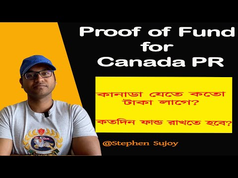 How Much Money You Need For Canada Immigration | 2020 (proof Of Fund)