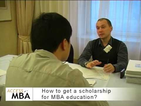 How to get scholarships for MBA?