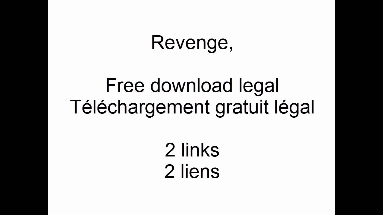Revenge, A Minecraft Parody, Free download legal, Téléchargement gratuit  légal