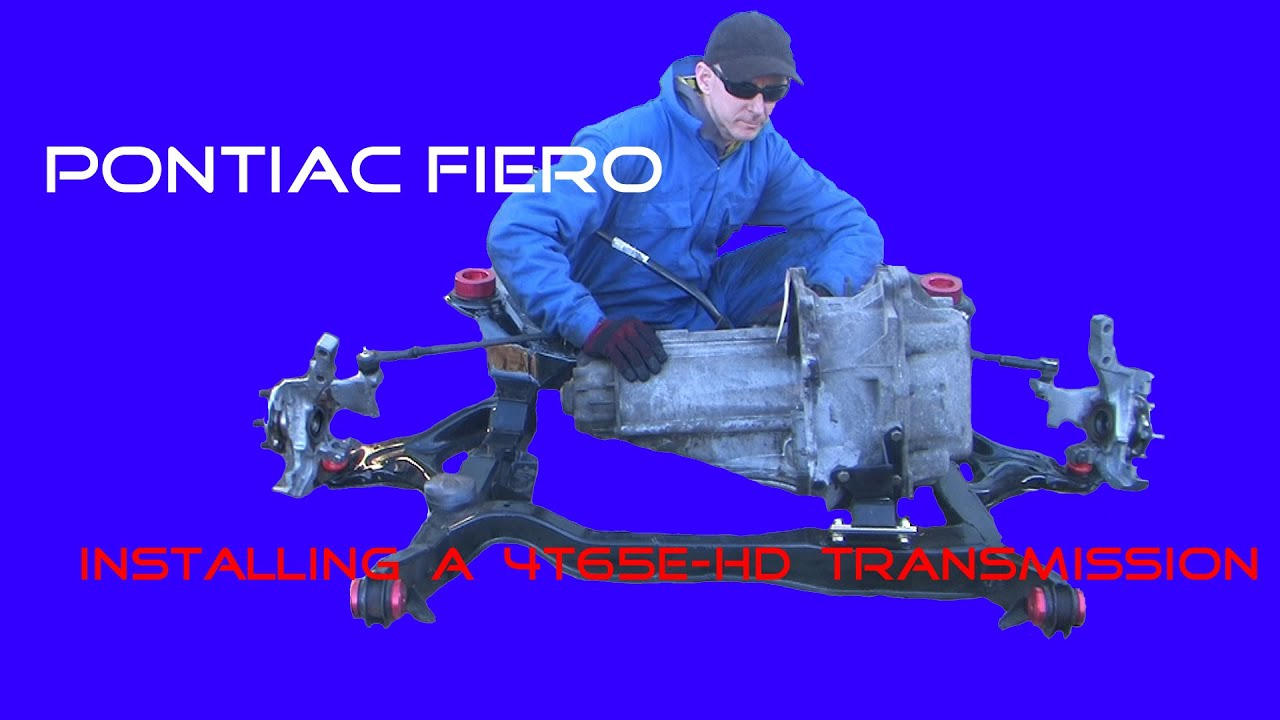 Pontiac Fiero 3800 Swap How To Installing A 4t65e Hd Automatic Wiring Harness Transmission