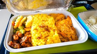 Garuda Indonesia Airline FOOD REVIEW - Flying from Lombok to Jakarta to Bangkok
