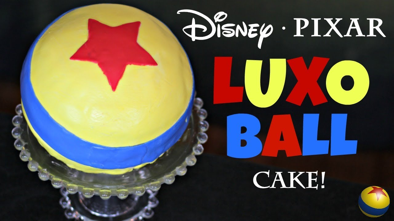 Luxo Ball Cake From The Pixar Movies Fiction Food Friday Youtube