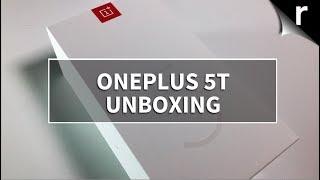 OnePlus 5T Unboxing, Setup & Tour (UK model)