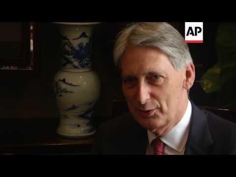UK, German finance mins meet in Chengdu