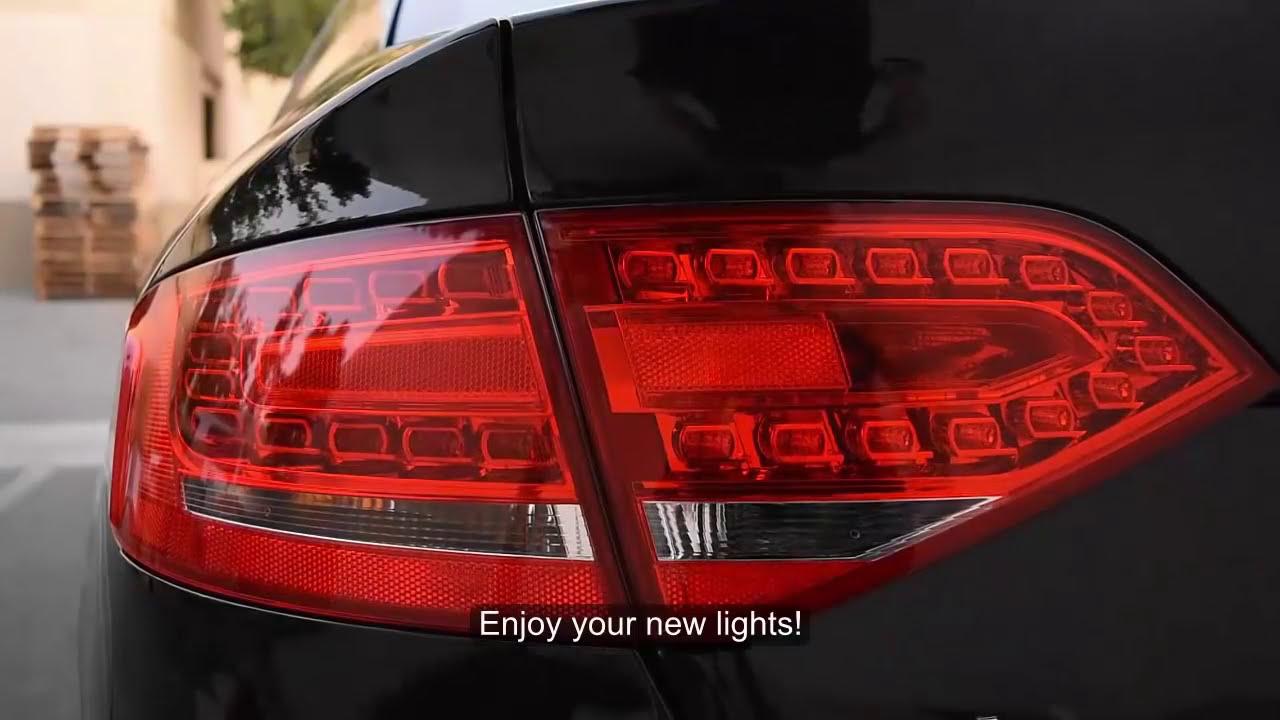 audi a4 tailight wiring [ 1280 x 720 Pixel ]