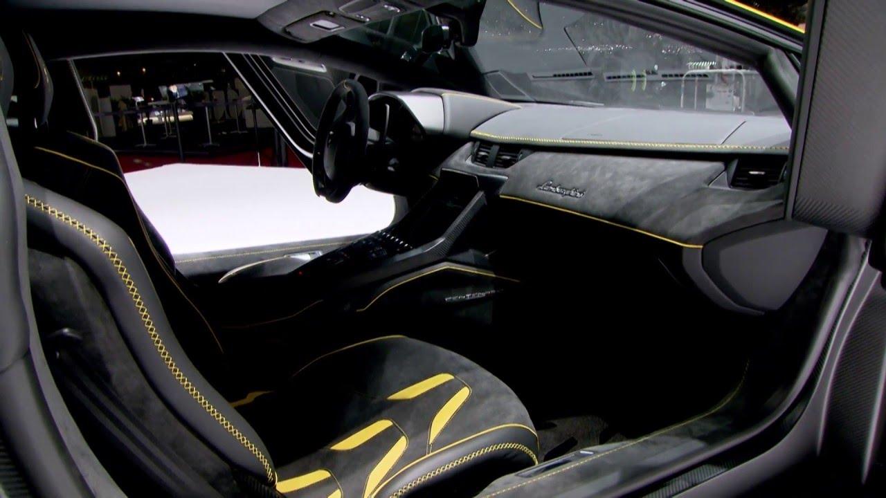 Lamborghini Centenario Lp 770 4 Luxurious Interiors Youtube