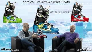 Repeat youtube video 2013 Nordica Fire Arrow Series Boots Review By Skis.com