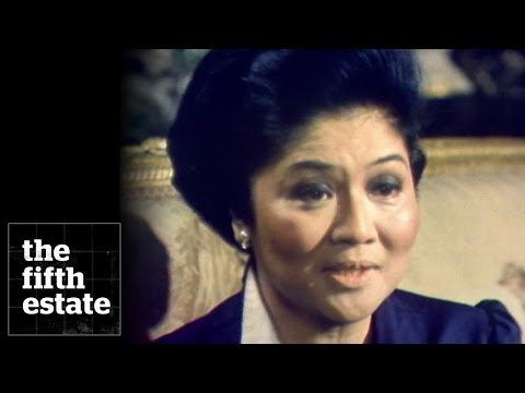 Imelda Marcos : First Lady of Shoes - the fifth estate