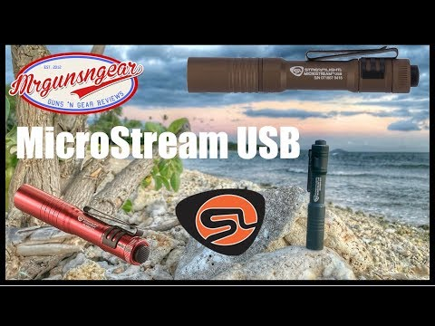 Streamlight MicroStream USB Review: Rechargeable 250 Lumen Mini EDC Light