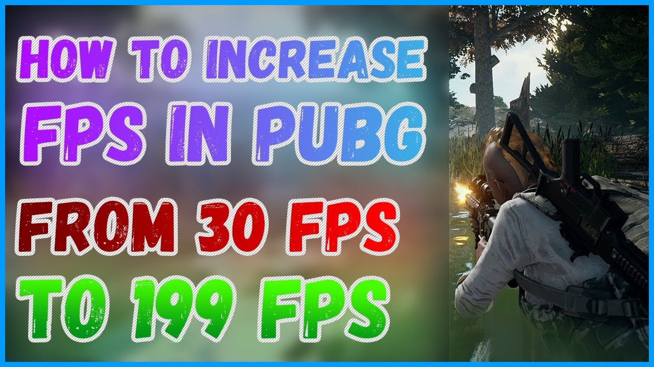 How to increase FPS in PUBG? | PUBG on low PC | PUBG FPS BOOST | New PUBG  lag fix 2019!