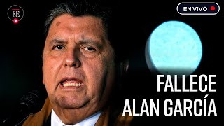 Expresidente peruano Alan García se disparó al enterarse que lo iban a arrestar | El Espectador