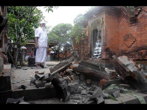 Wajib Ditonton Gempa Bali Tadi Pagi Kekuatannya  Sr