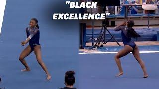 La gymnaste Nia Dennis souffle tout le monde avec sa performance dédiée à