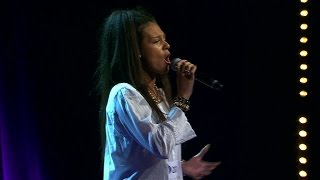 Saranda Hasani sjunger No One i solomomentet av Idols slutaudition - Idol Sverige (TV4)