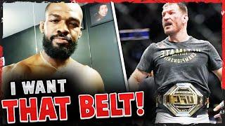 Jon Jones tells the UFC to SEND THE CONTRACT to fight Stipe Miocic, Israel Adesanya SLAMS Jon Jones