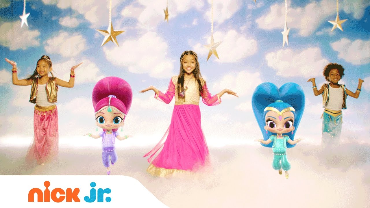 Shimmer and Shine | 'Magic Carpet Ride' Official Music Video | Nick Jr.
