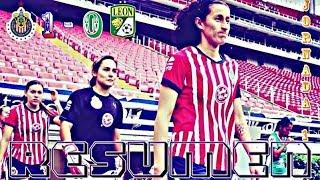 Chivas vs León 1-0 Goles y Resumen Liga MX Femenil 2018