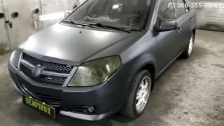 Geely MK покраска авто композитным покрытием Dempinox в Запорожье