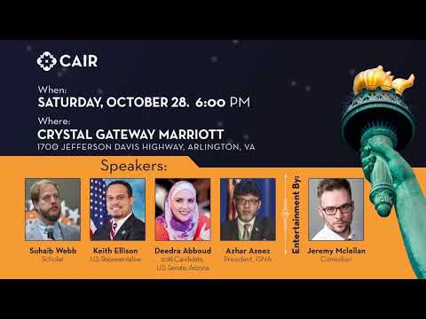 Video: Comedian Jeremy McLellan to Entertain at CAIR's 23rd Annual Banquet