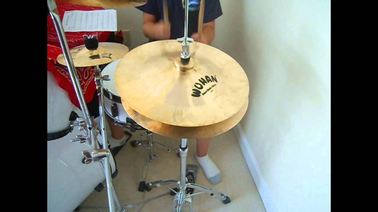 Geto-Fabulous China Cymbal Hi-Hat {MUST WATCH!}