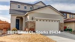 2889 Garda Ct. Sparks, NV 89434 | Sparks Homes for Sale