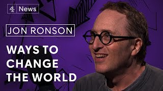 Jon Ronson on being curious, his mental breakdown and interviewing Alex Jones