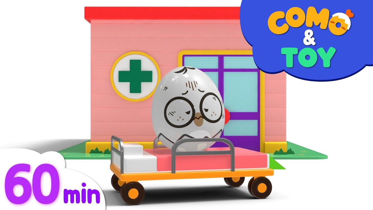 Download Como and Toys   Claw Machine + More Episode 60min   Learn colors and words   Como Kids TV
