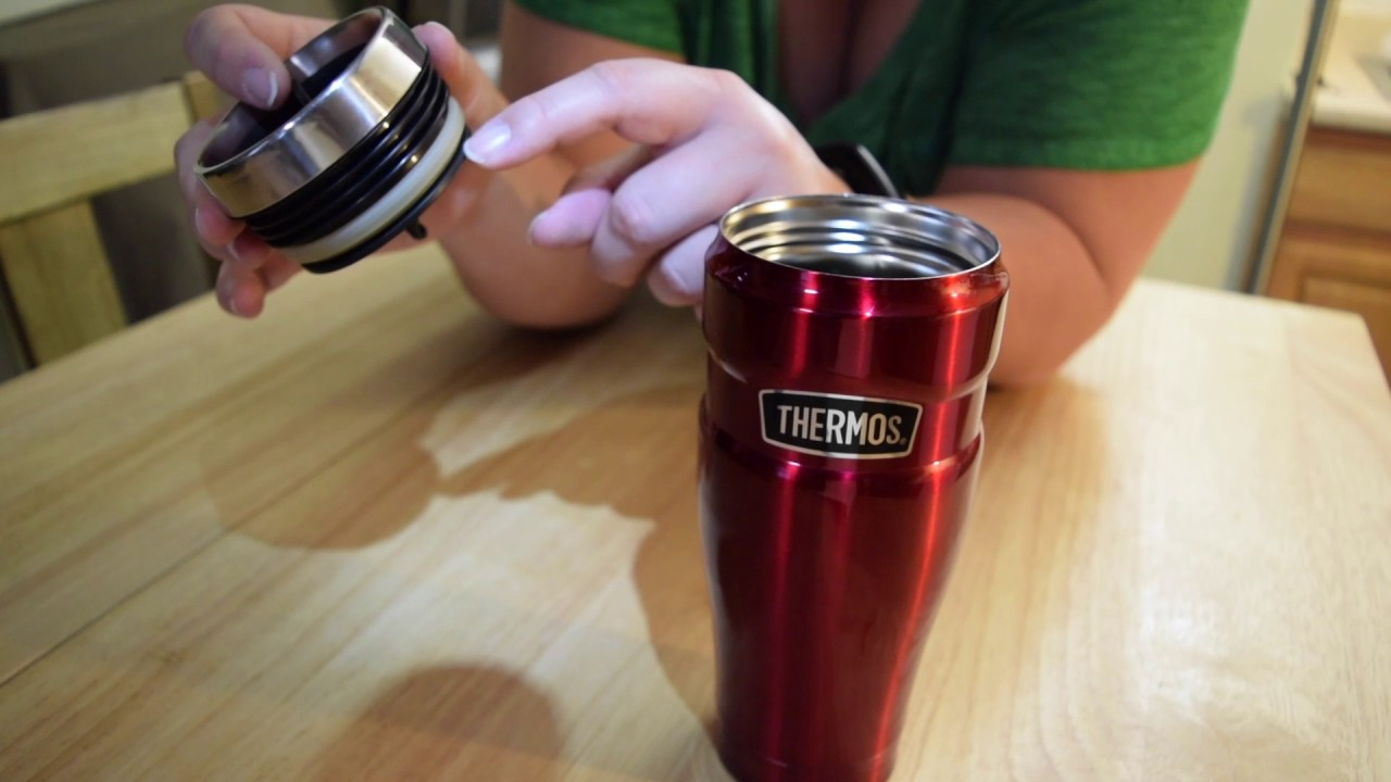 Using and Caring for your Thermos Stainless King 16 oz  Travel Tumbler