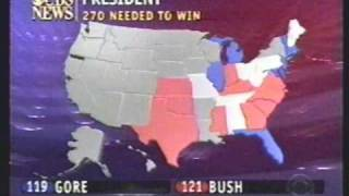 Election Night 2000 - from CBS - part 1!