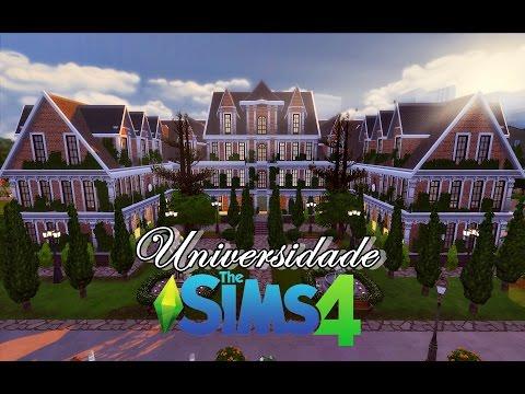 Universidade Sim #1 - Campus │The Sims 4 (Speed Build)