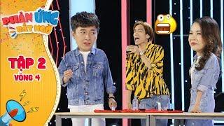 Phản ứng bất ngờ|Tập 2 Vòng 4: Ngô Kiến Huy, Sam XUÝT XOA với màn UỐNG NƯỚC MẮM của Dương Thanh Vàng
