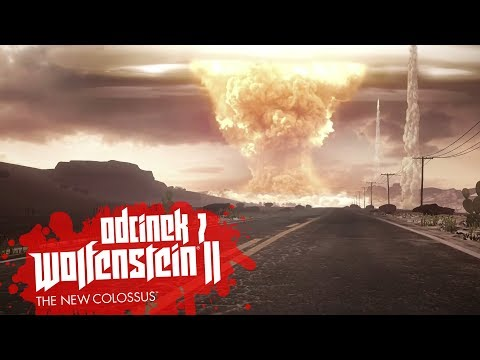 Zagrajmy w Wolfenstein II The New Colossus #7 - UFO I WYBUCH BOMBY ! - PC