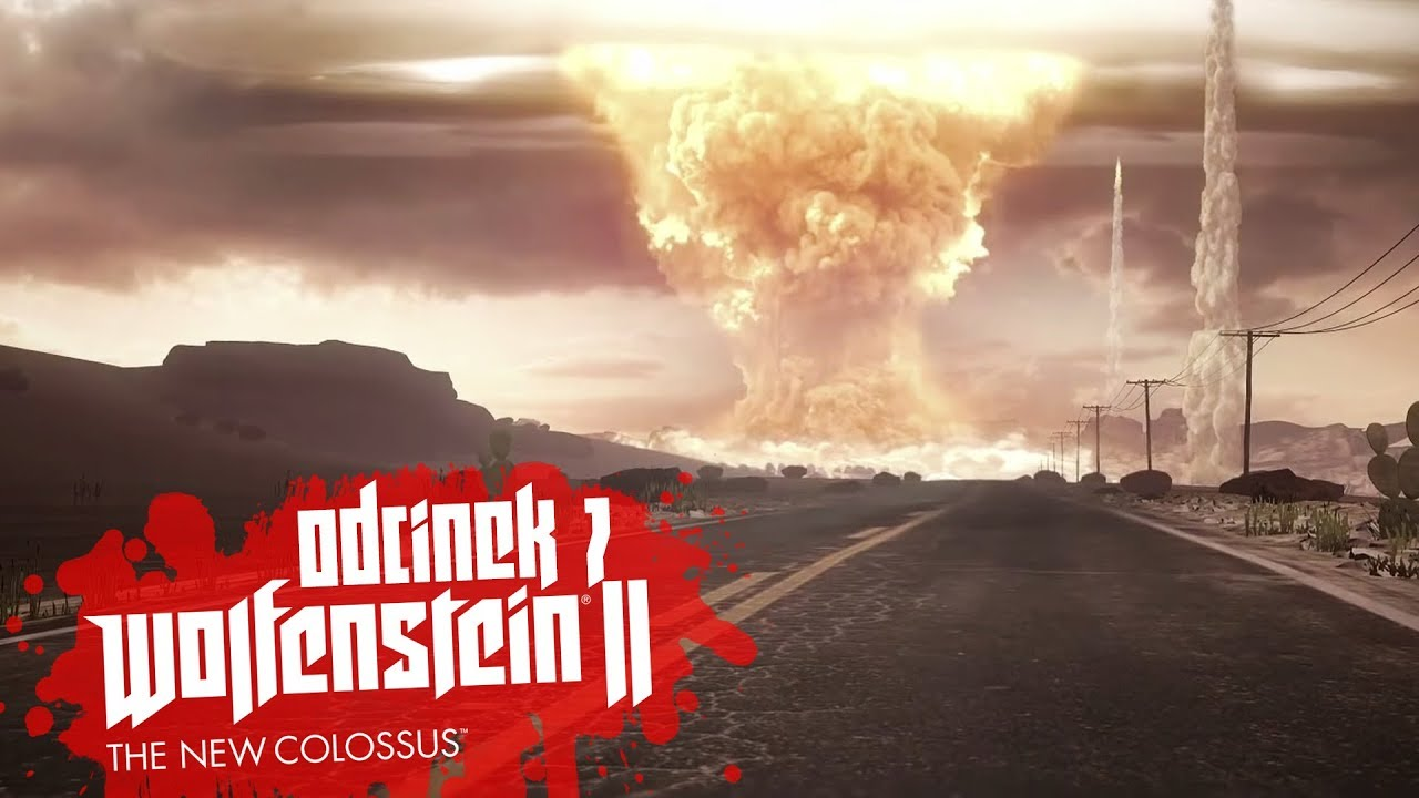 Zagrajmy w Wolfenstein II The New Colossus #7 – UFO I WYBUCH BOMBY ! – PC