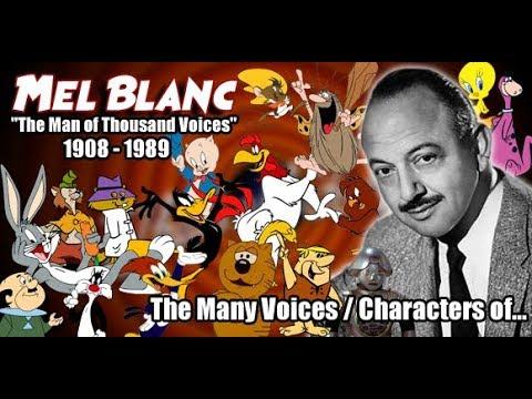 The Many Voices of Mel Blanc (The Man of a Thousand Voices) HD High Quality