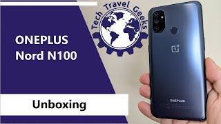 OnePlus Nord N100 - Unboxing