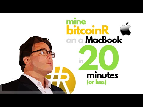 MINE BITCOINR WITH A MACBOOK IN LESS THAN 20 MINUTES!